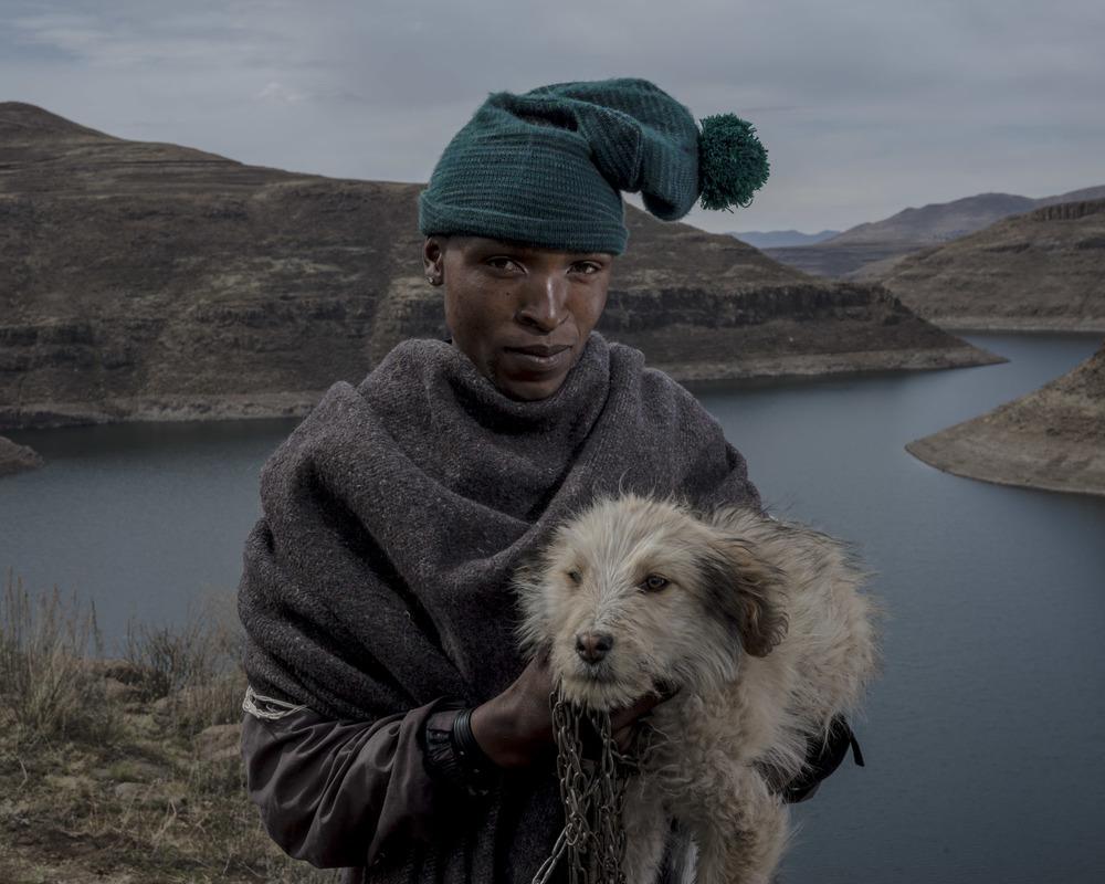 Kholotsa Monyalotsa, Katse Dam, Lesotho, 2015