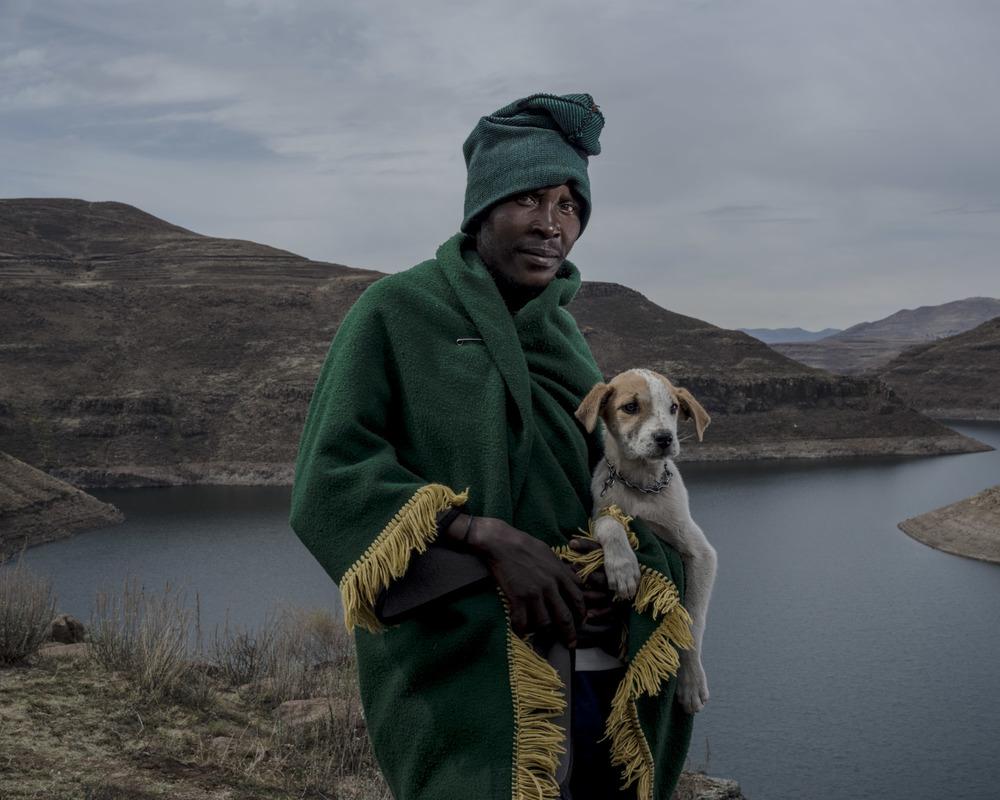Machabe Moyalotsa, Katse Dam, Lesotho, 2015