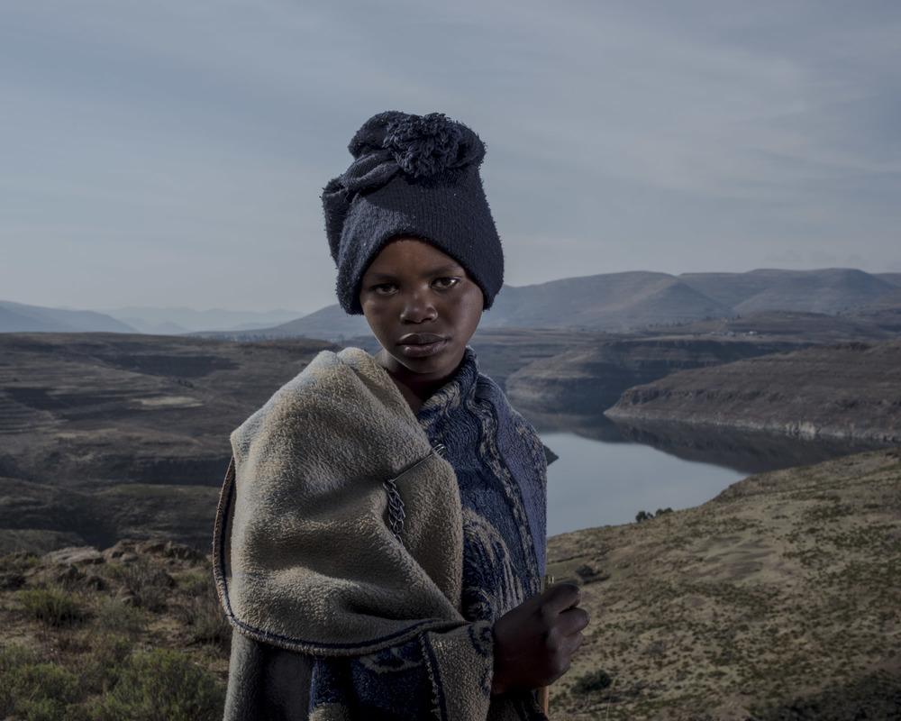 Kefude Makhera, Katse Dam, Lesotho, 2015