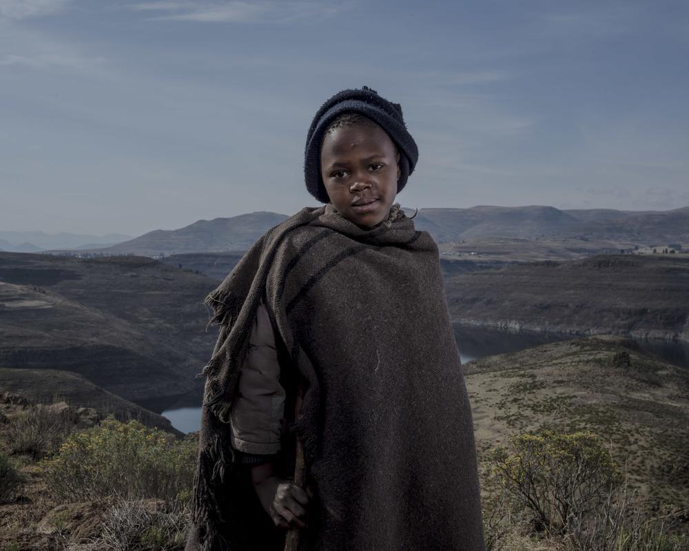Mokokoteli Lintlhokoane, Katse Dam, Lesotho, 2015