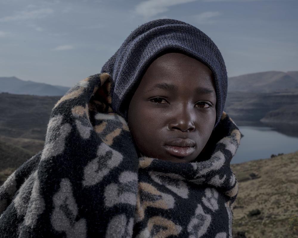 Bernard Lintlhokoane, Katse Dam, Lesotho, 2015
