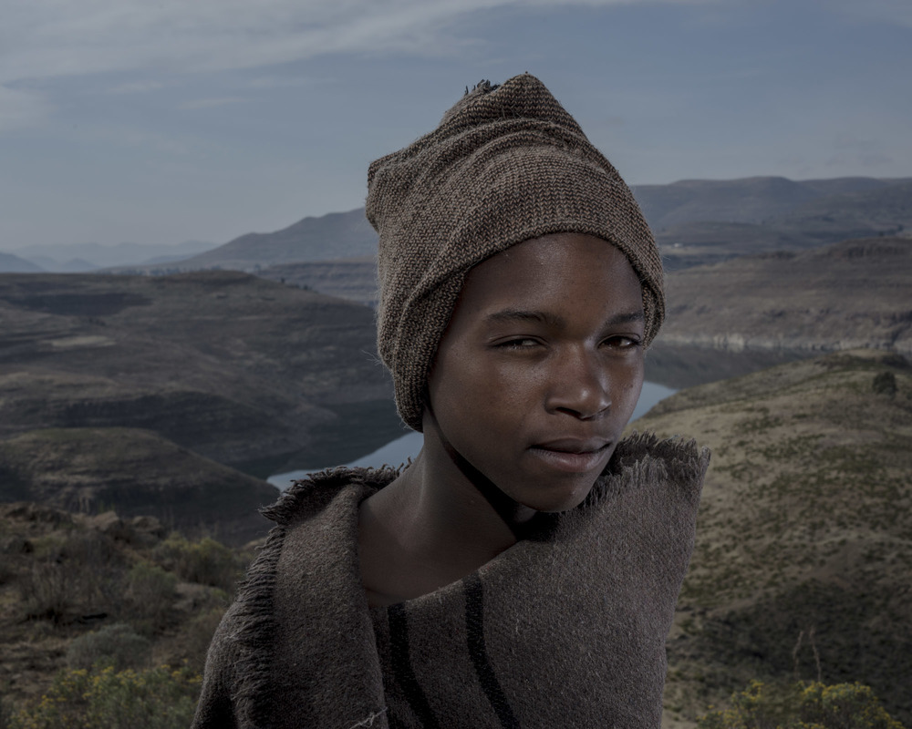 Atang Mafoka, Katse Dam, Lesotho, 2015
