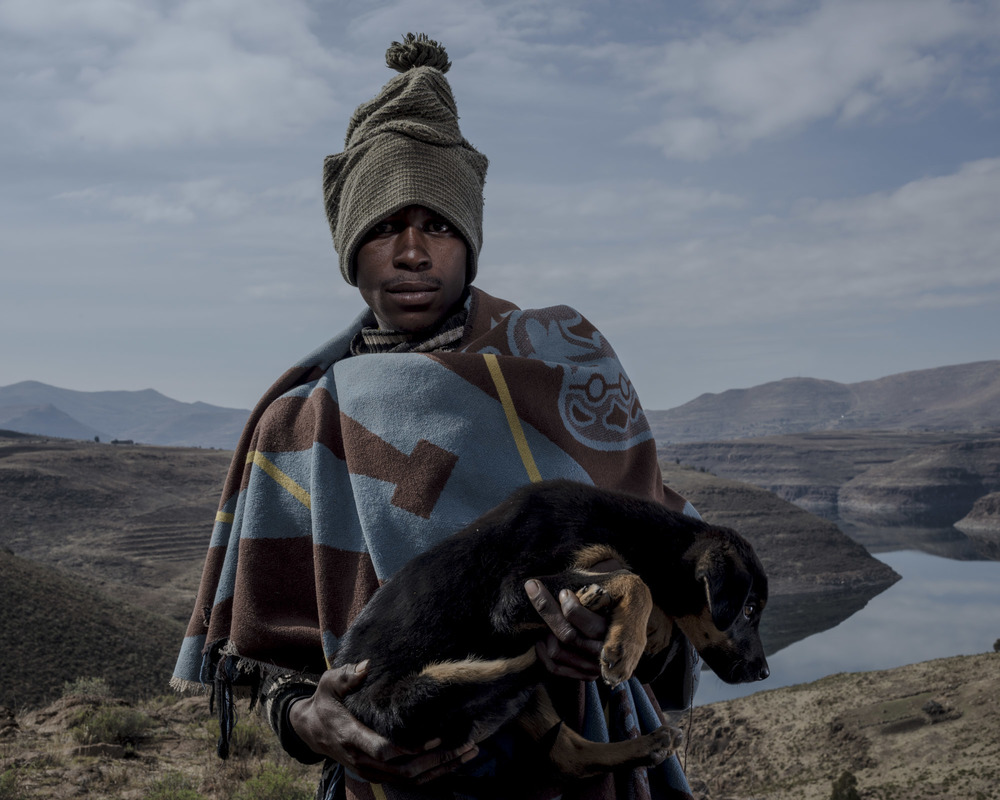 Linku Lebina Baitseng, Katse Dam, Lesotho, 2015