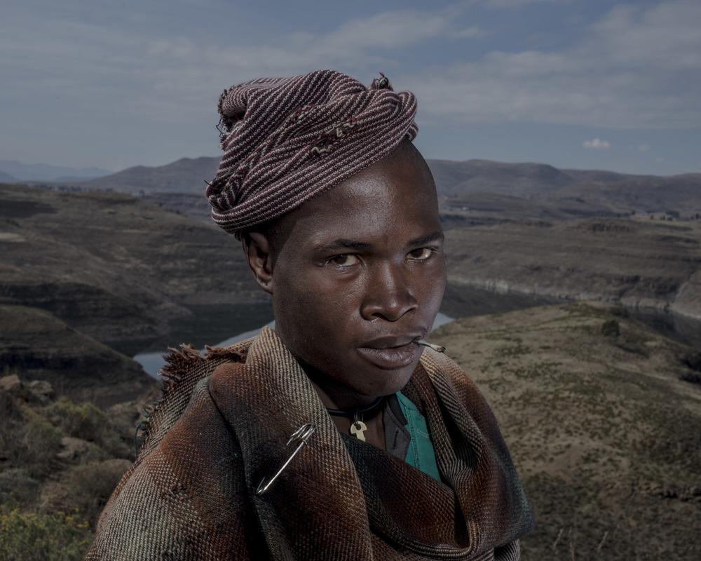 Tiele Mafoka, Katse Dam, Lesotho, 2015