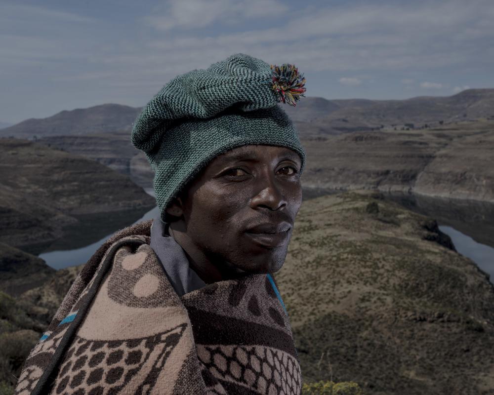 Khotsa Rankhule, Katse Dam, Lesotho, 2015