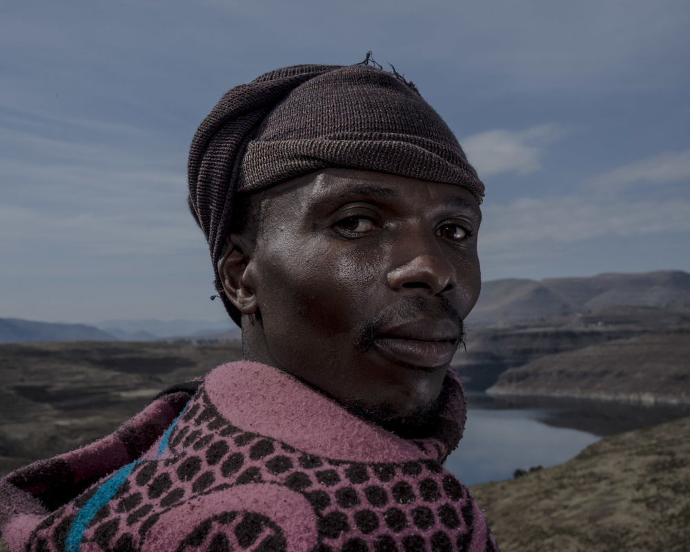 Retsilisitsoe Ralebakeng, Katse Dam, Lesotho, 2015