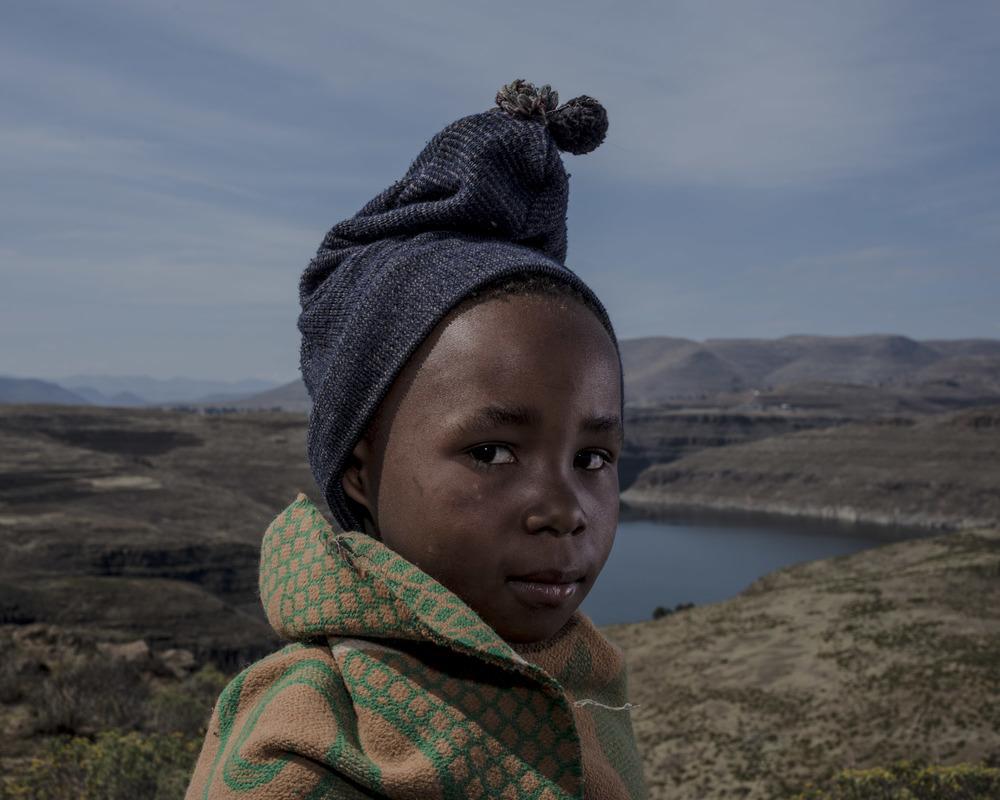 Lekula Molelle, Katse Dam, Lesotho, 2015