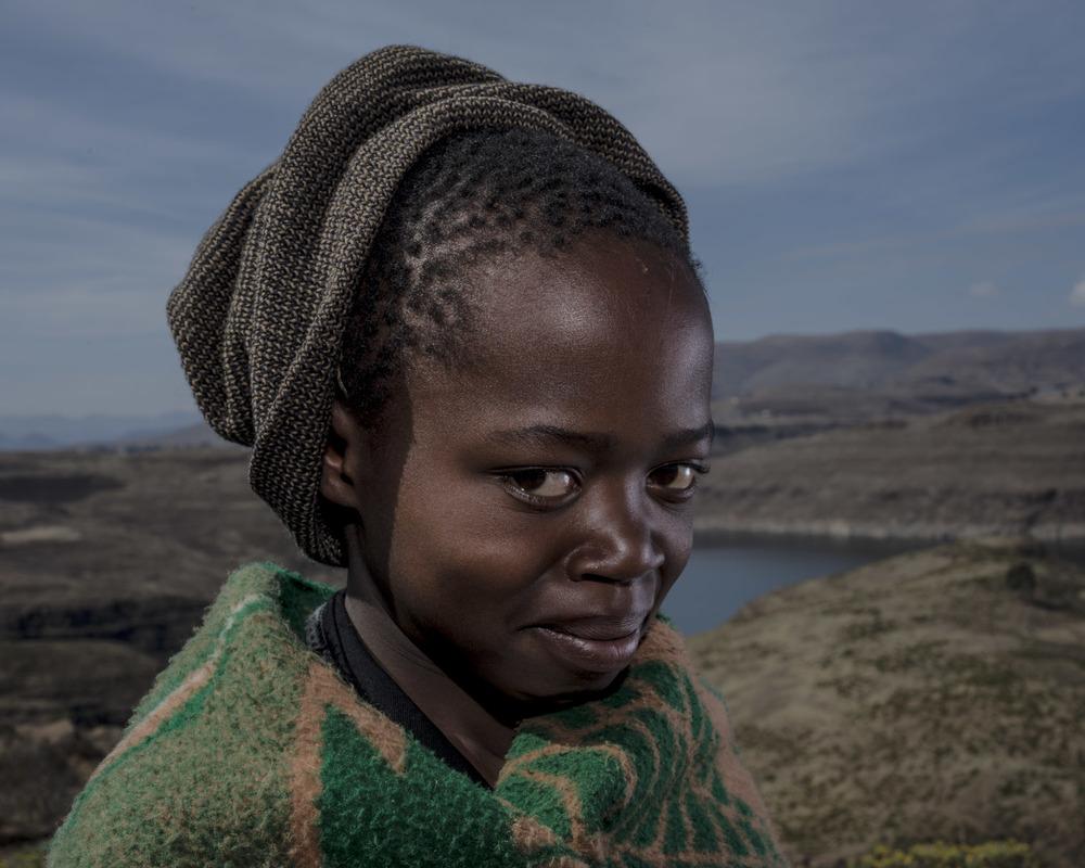 Tlhopeho Lebina, Katse Dam, Lesotho, 2015