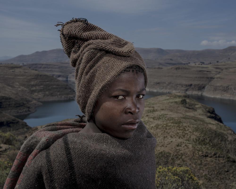 Lerato Khotsa, Katse Dam, Lesotho, 2015
