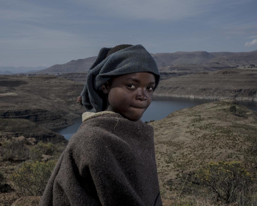 Anonymous 7, Katse Dam, Lesotho, 2015