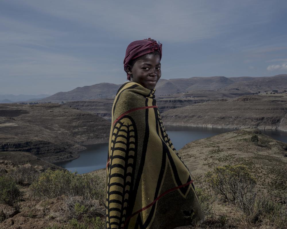 Lebohang Pitsi, Katse Dam, Lesotho, 2015