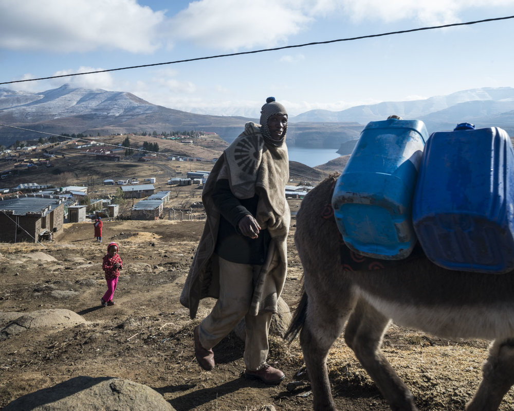 Katse Dam 7/34, Lesotho, 2015
