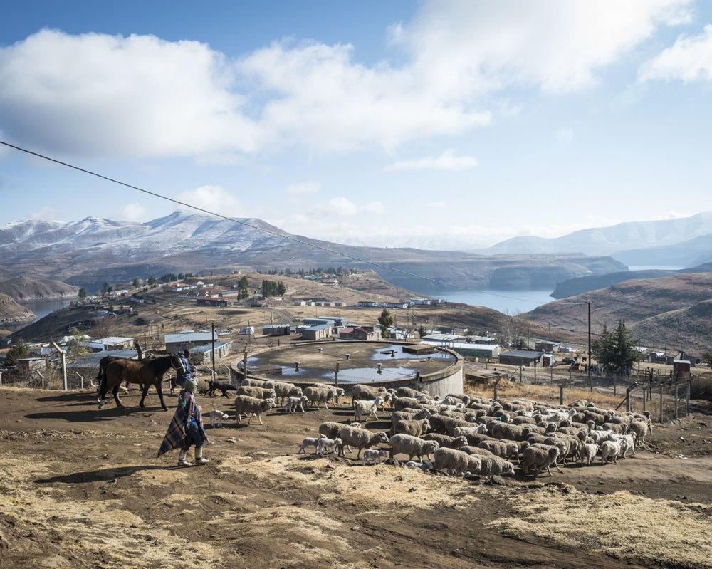 Katse Dam 6/34, Lesotho, 2015