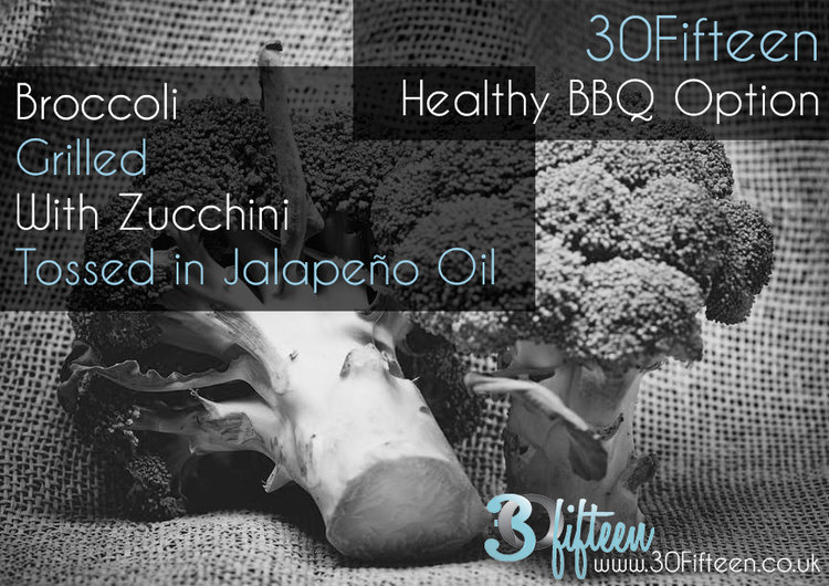 Broccoli BBQ recipe 30Fifteen