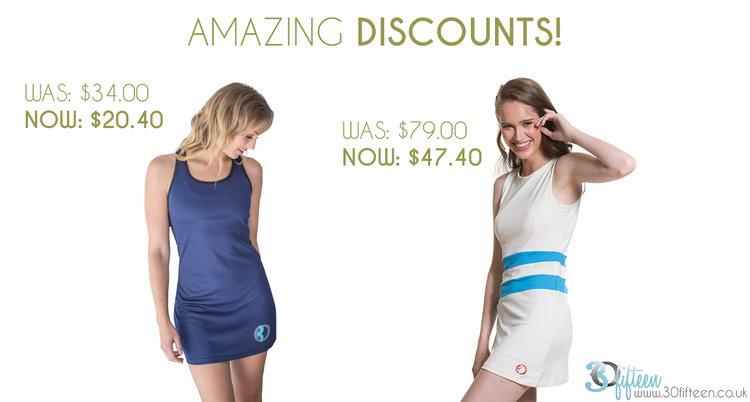 Amazing discounts