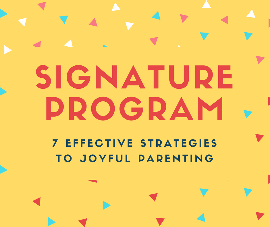 7 positive psychology strategies to reduce YOUR stress, create a JOYFUL home environment and POSITIVELY interact with your children!