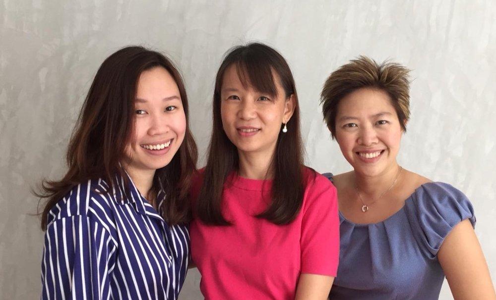 Co Founders:  Claire Ong, Veronica Chua, Sha-En Yeo