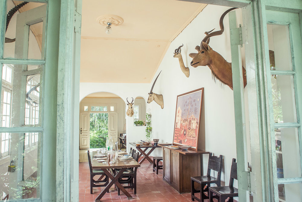 Finca Vigia dinner room, Ernest Hemingway Home