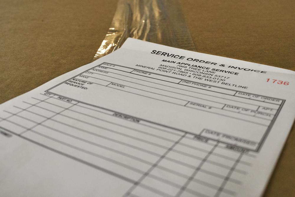 Service Order & Invoice image
