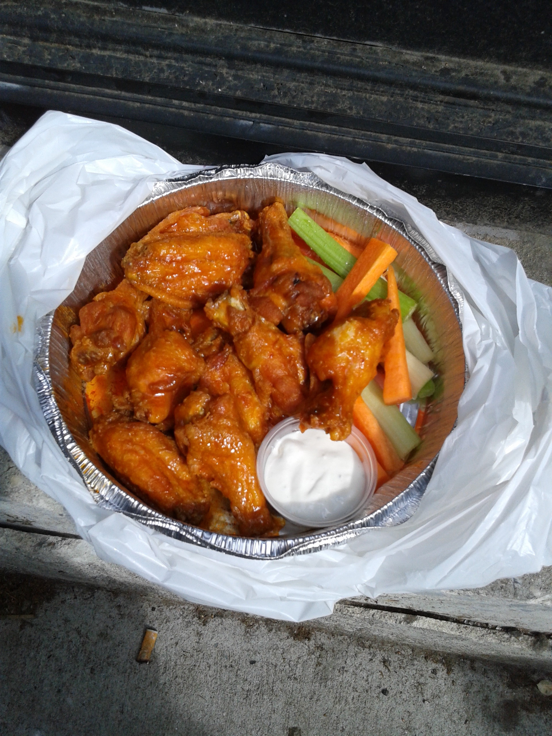Good ole' Buffalo Wings!