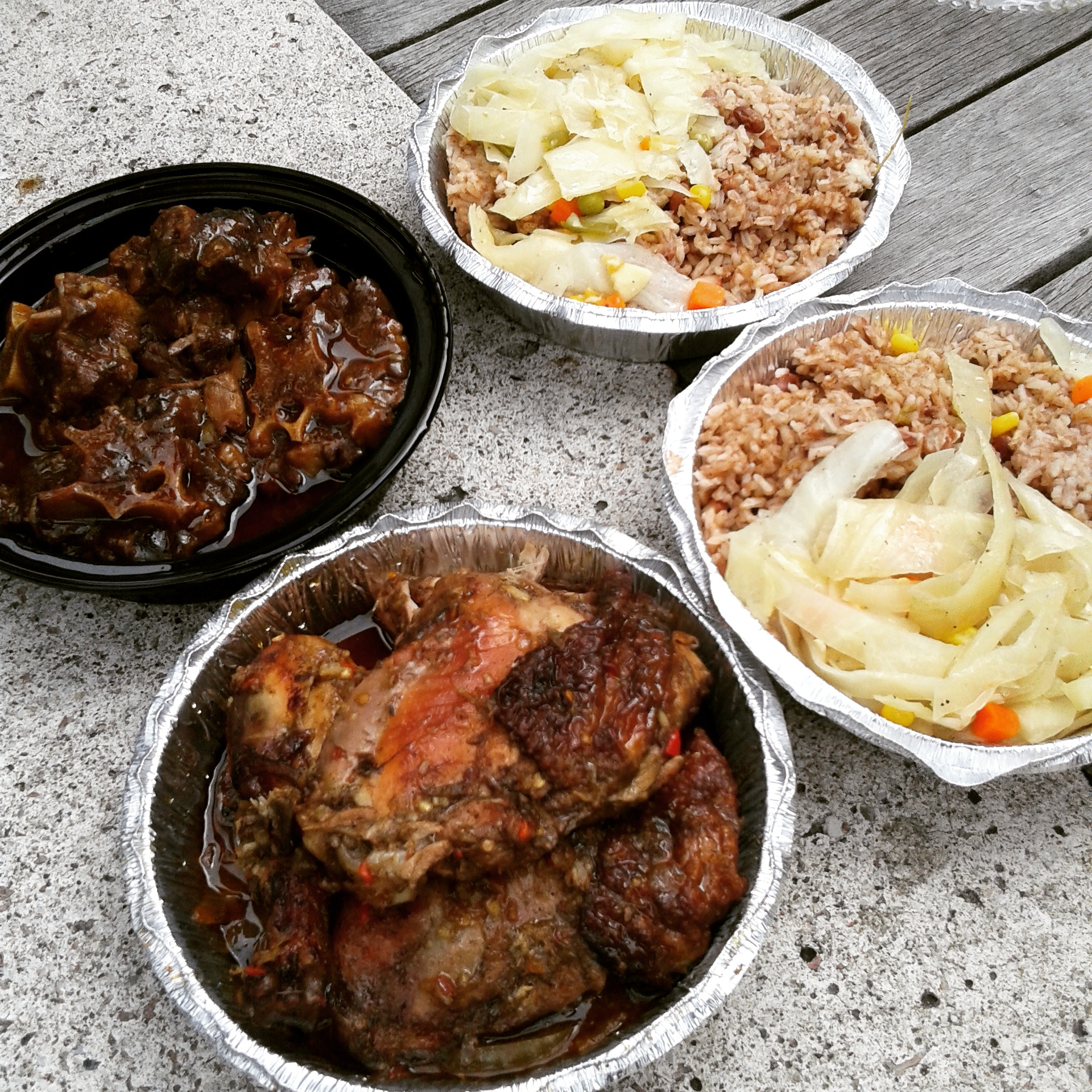 Oxtail & Chicken!