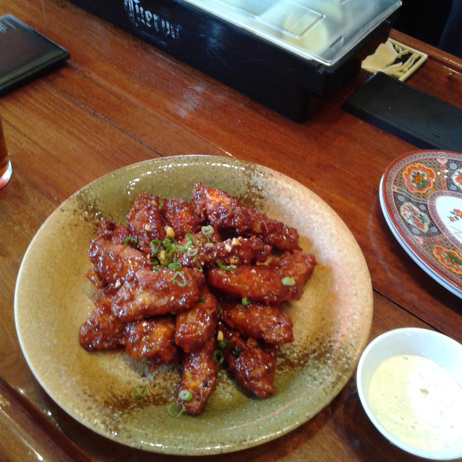 Talde's Kung Pao Wings!