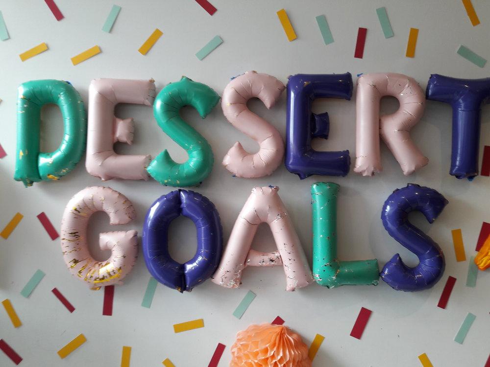Dessert Goals!