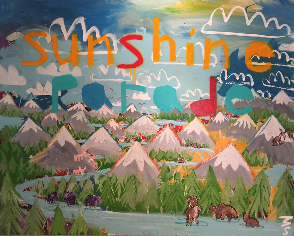 SUNSHINE PARADE - Mandy Stobo