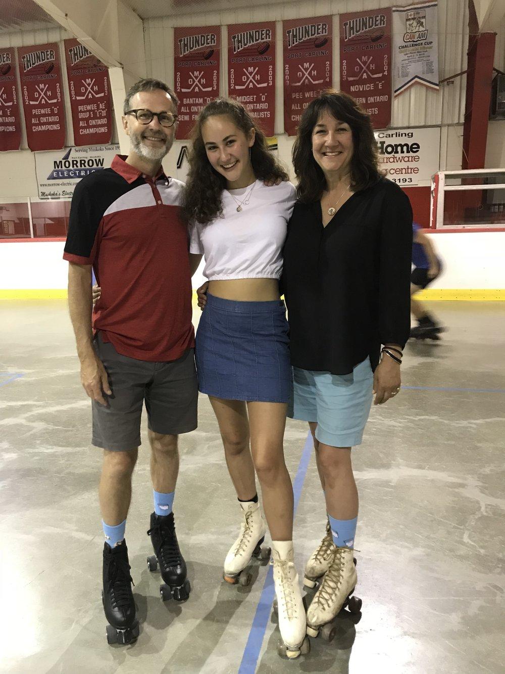 The Annual Family Rollerskating Bonanza.