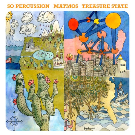 So Percussion/Matmos - Treasure State
