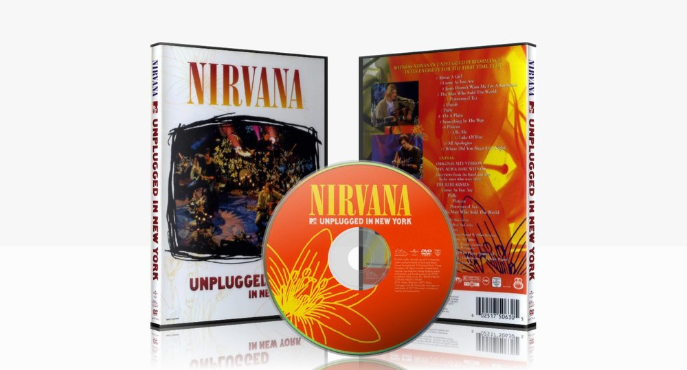 Nirvana: Unplugged In New York (DVD Release)