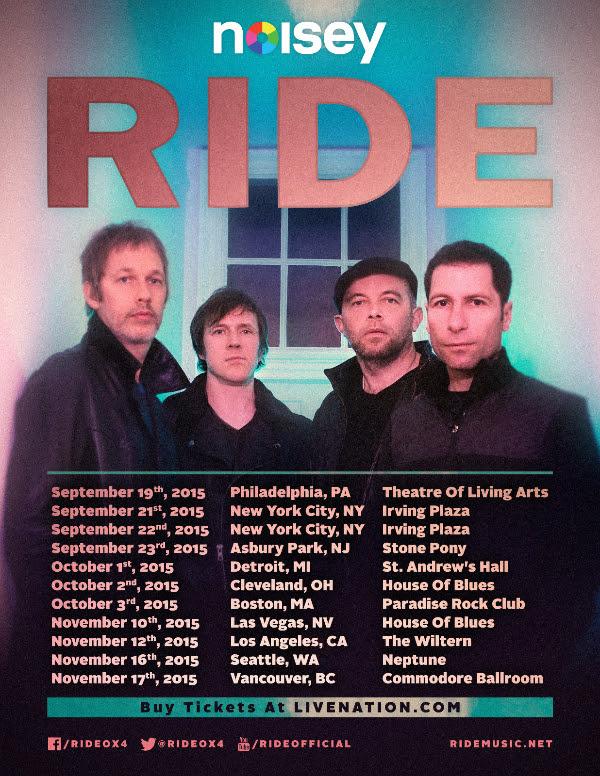 RIDE 2015 Tour