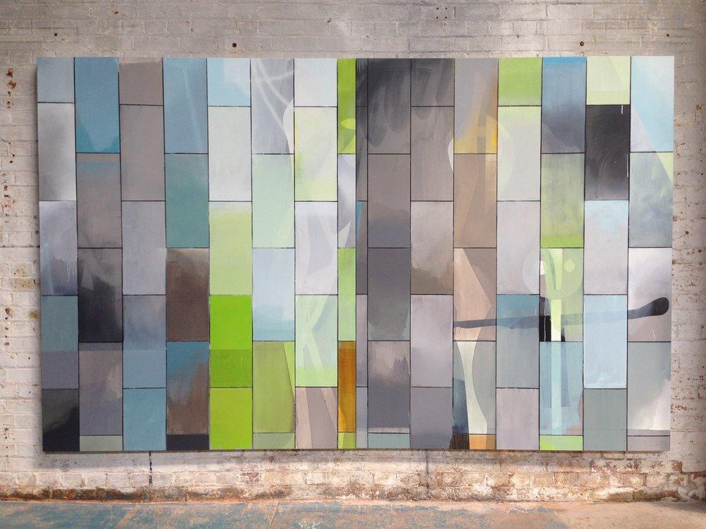 Wall of windows (figures)