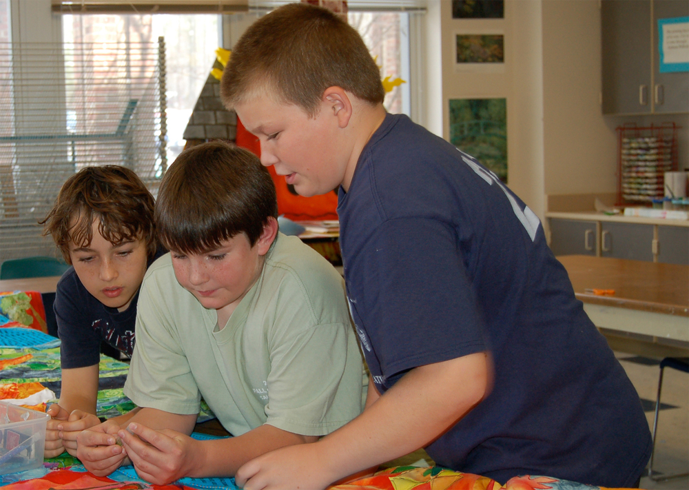 Kids Working On Quilt.jpg