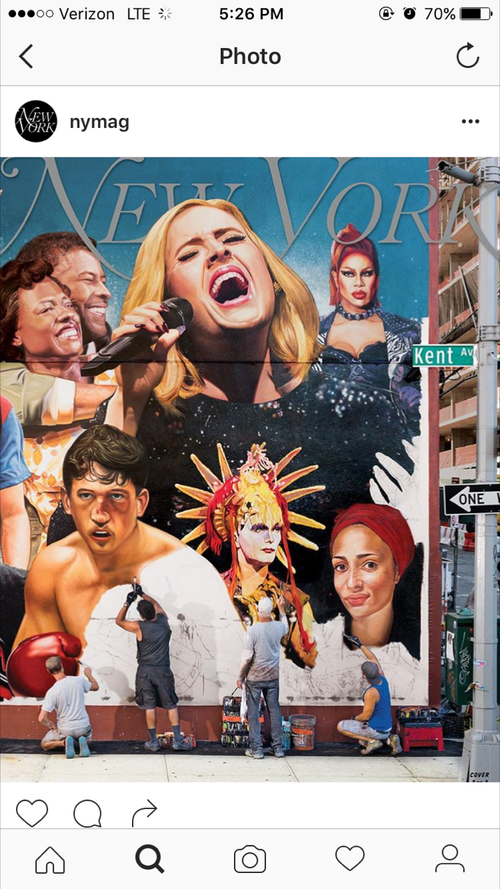 We spy a familiar face on the cover of New York Mag!