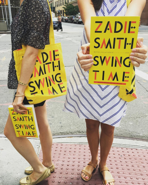 The excitement is so real! Zadie galleys and totes are in–November can't come soon enough!