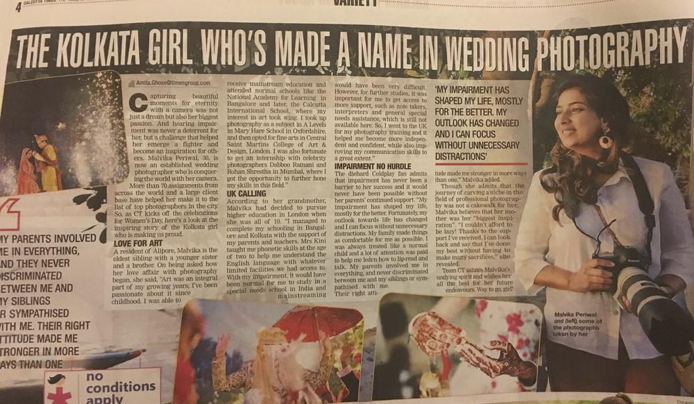 Calcutta Times on 4th March 2017