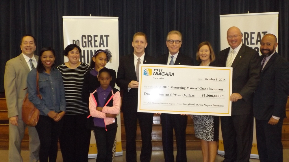 First Niagara Mentoring Matters Announcement.JPG