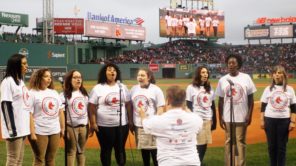 Mentoring Night at Fenway Singers.JPG