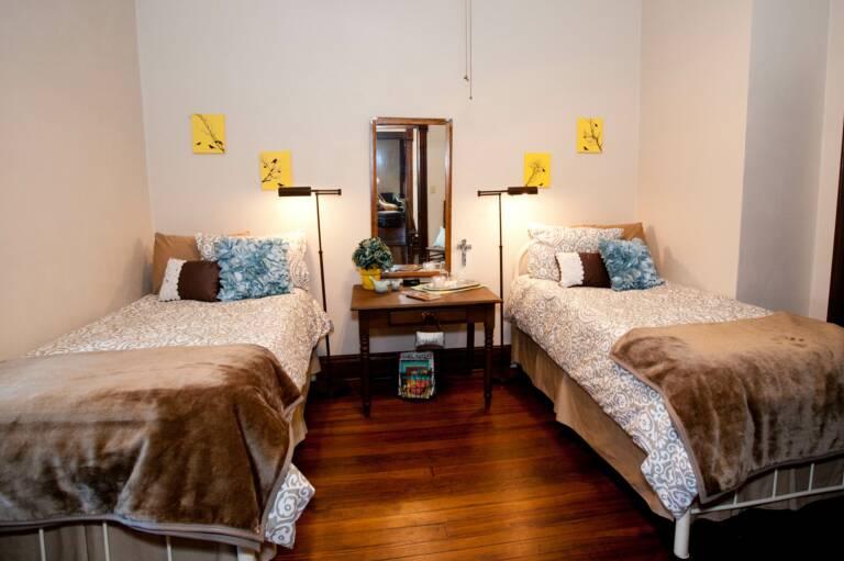 Bedroom in Trudy Suite
