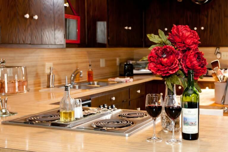 Kitchen in Trudy Suite
