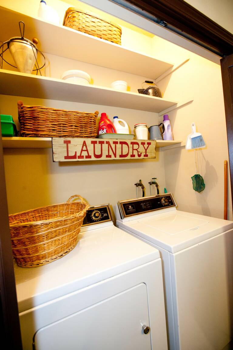 Laundry in Trudy Suite