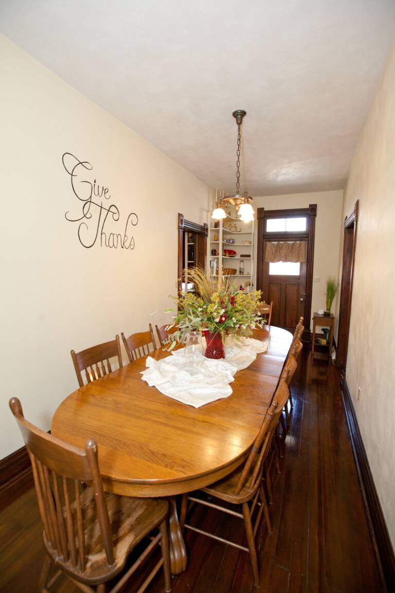 Dining Room in Trudy Suite