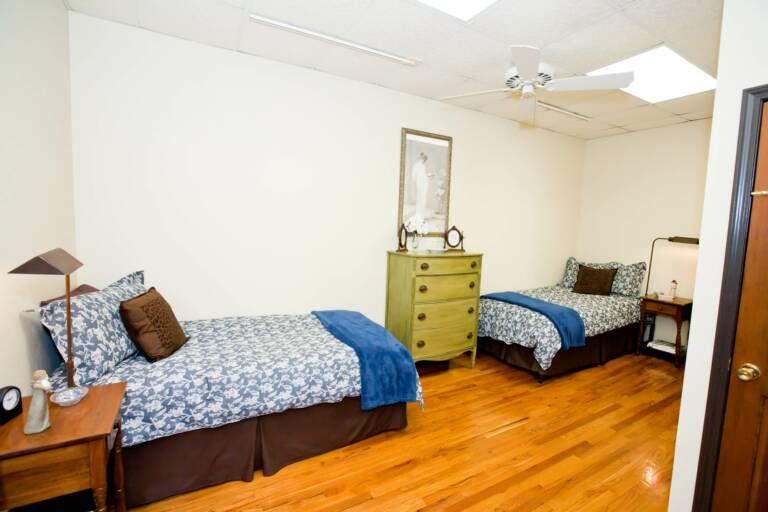 Bedroom in Joe Suite