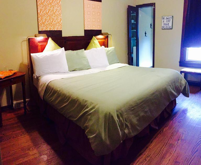 Master Bedroom in Trudy Suite