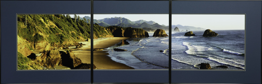 This photograph is of Cannon Beach, Oregon