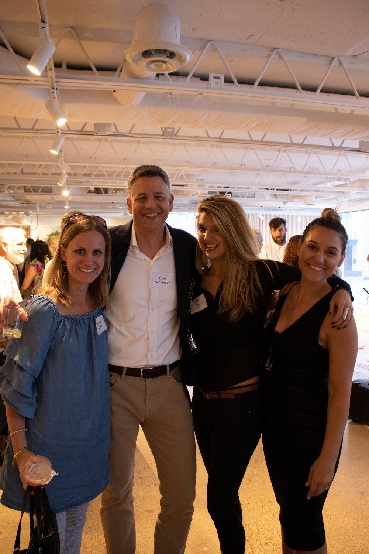 Amber Quist, Luke Schneider, Shayna Brown