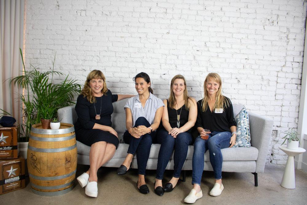 Liz Winkler, Katie Daly, Lyndsay Erickson