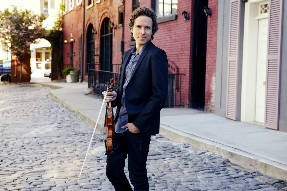 Tim Fain, violinist