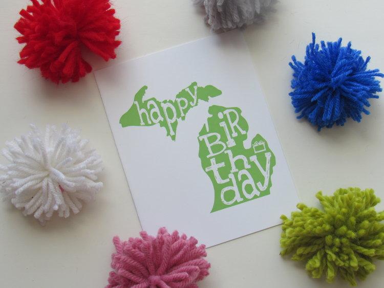 Green Happy Birthday Michigan 2JPG